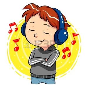 20360741-lyssnande-musik-en-pojke-lyssna-på-musik-med-hörlurar-på-huvudet
